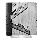 Haight And Ashbury Shower Curtain