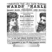 Hair Restorative, 1891 Shower Curtain