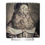 Hairy Maid, 17th Century Shower Curtain