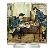 Hale & Washington In Nyc Shower Curtain