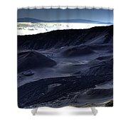 Haleakala Crater Hawaii Shower Curtain