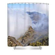 Haleakala Mists Shower Curtain