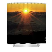 Haleakala Sunrise Shower Curtain