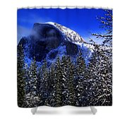 Half Dome Clearing Shower Curtain