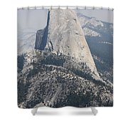 Half Dome Glacier Point Shower Curtain