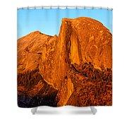 Half Dome Glow Shower Curtain
