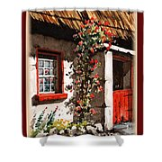 Wexford  Half Door Shower Curtain