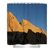 Half Moon At Garden Of The Gods Shower Curtain