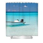Half Moon Cay Shower Curtain