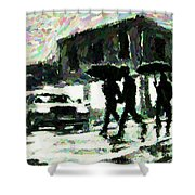Halifax In The Rain One Shower Curtain