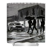 Halifax Untitled Number Five  Shower Curtain