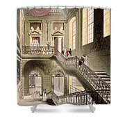 Hall And Staircase At The British Shower Curtain