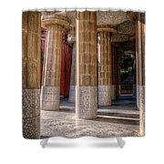 Hall Of 100 Columns Shower Curtain