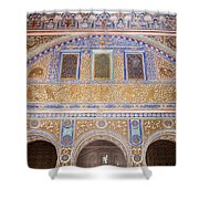 Hall Of Ambassadors In The Royal Alcazar Of Seville Shower Curtain