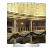 Hall Of Presidents Walt Disney World Panorama Shower Curtain