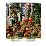 Halloween Celebrations Shower Curtain