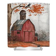 Halloween Is Coming Shower Curtain