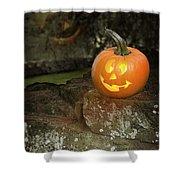 Halloween Jack O Lanterns Shower Curtain