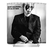 Halloween Let Down Shower Curtain