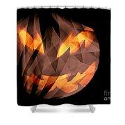 Halloween Moon Shower Curtain