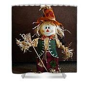 Halloween Scarecrow Shower Curtain