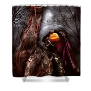 Halloween - The Headless Horseman Shower Curtain