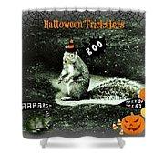 Halloween Tricksters Shower Curtain