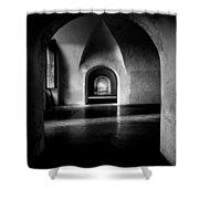 Halls Shower Curtain
