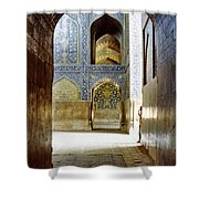 Hallway At Sheik-lotfollah Mosque Shower Curtain