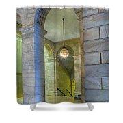 Hallway New York Public Library Shower Curtain