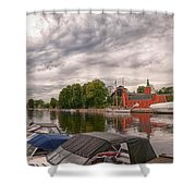Halmstad Castle 01 Shower Curtain