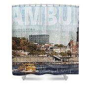 Hamburg Shower Curtain