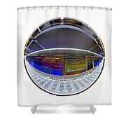 10387 Hamburg U1 Luebecker Strasse Shower Curtain