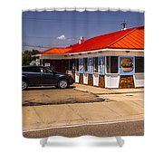 Hamburgers And Ice Cream Shower Curtain
