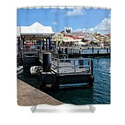 Hamilton Dock Shower Curtain
