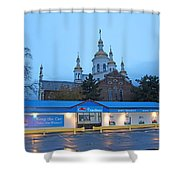 Hamilton Orthodox Church Shower Curtain