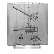 Hammer Patent Shower Curtain