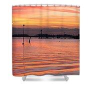 Hampshire Sunset Shower Curtain
