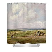 Hampstead Heath, C.1820 Shower Curtain