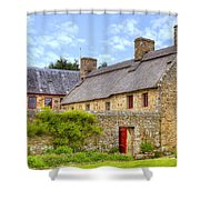 Hamptonne Country Life Museum - Jersey Shower Curtain