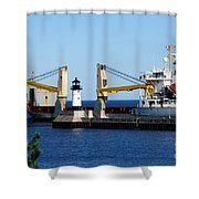 Han Xin Ship Shower Curtain