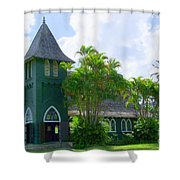 Hanalei Church Shower Curtain
