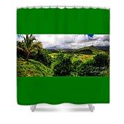 Hanalei Valley Shower Curtain