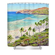 Hanauma Bay - Oahu Shower Curtain
