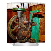 Hand Cranked Shower Curtain