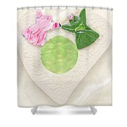 Hand In Hand Into Adventure Land Shower Curtain