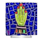 Hand Me Down By Diana Sainz Shower Curtain