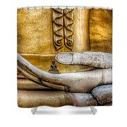 Hand Of Buddha Shower Curtain