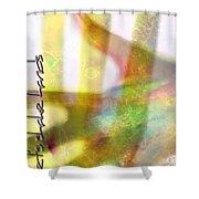 Hand Shake Shower Curtain