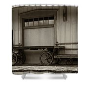 Handcarts Shower Curtain